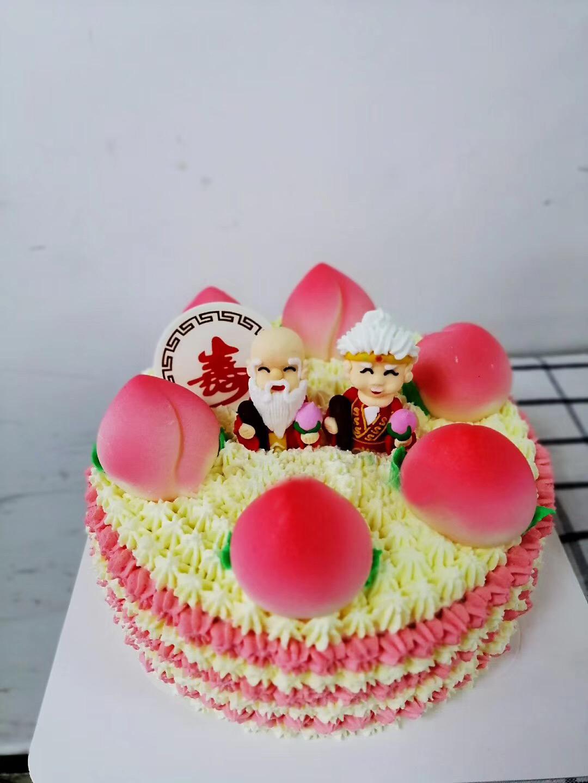 寿桃生日蛋糕