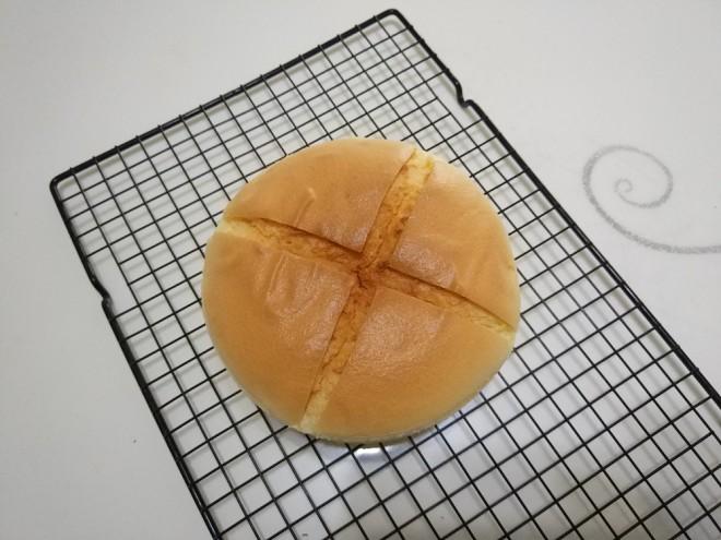 橙子味戚风蛋糕6寸(水浴法)