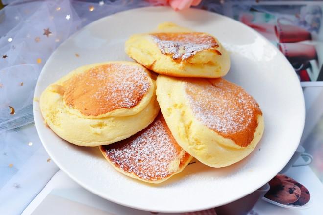 原味无油日式舒芙蕾厚松饼